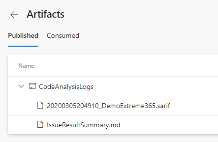 Artifacts of Solution Checker