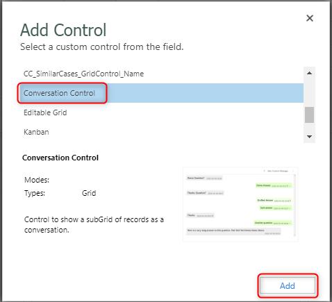Add Control part 2