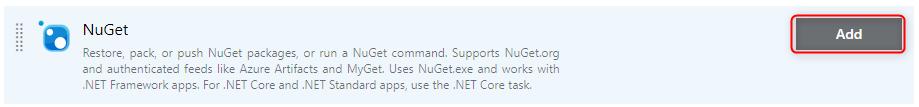 NuGet restore