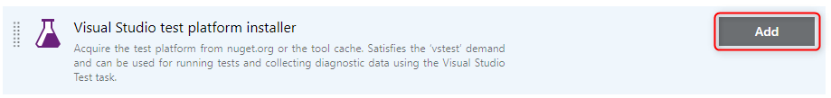 Test Platform installer