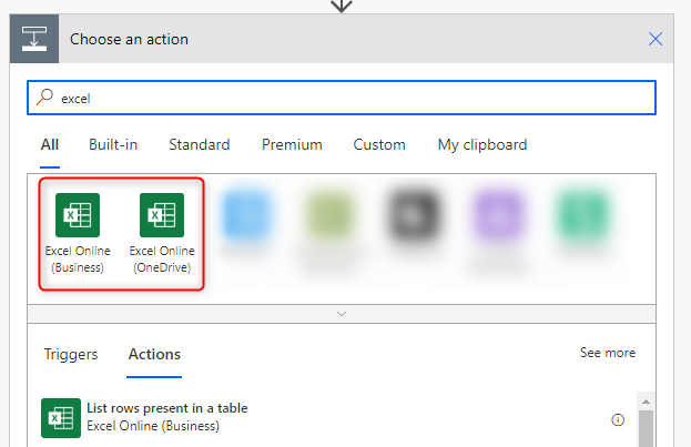 Create and fill an Excel file dynamically with Power Automate