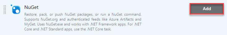 NuGet step